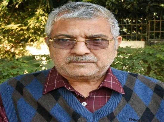 Dr Dharamvir Gandhi floats new political party