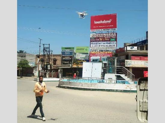 Punjab Police starts using drones to check curfew violators