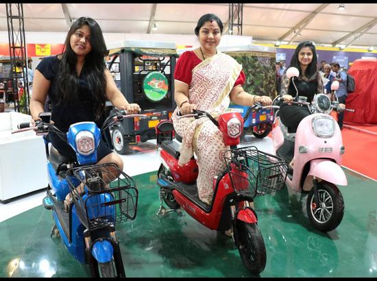 7th Electric Vehicles Expo - inauguration