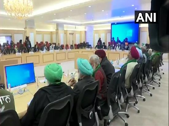 Centre's meeting with farmer leaders underway