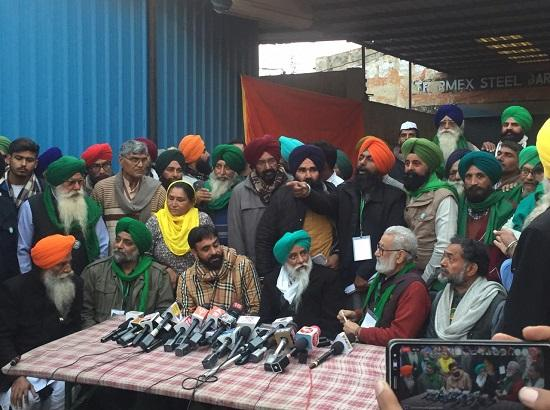 Farmer leaders holds Press Conference at Singhu Border a day before Tractor Rally
