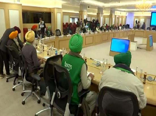 9th round of meeting between govt, farmer leaders underway in Delhi