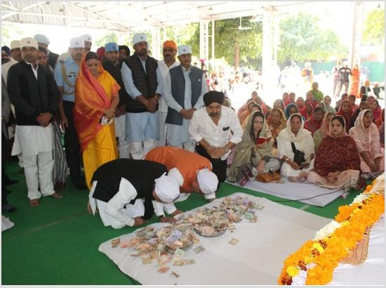 Shabad Kirtan at Rajasthan CM residence to mark 550th anniversary of Sri Guru Nanak Dev Ji