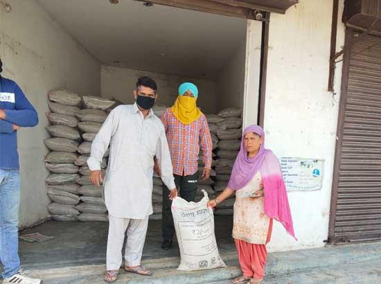 2200 quintal wheat distributed in SAS Nagar during past 3 days
