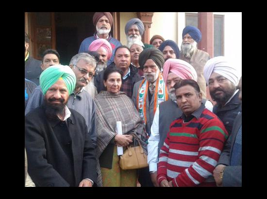 Former Minister and SAD Leader Hamir Singh Ghagga Joins Congress
