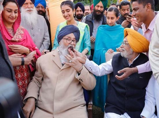Parkash Singh Badal is my biggest role model, says Harsimrat Badal