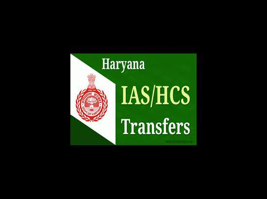 One IAS officer and one HCS officer transferred