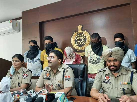 Big Haul by S.A.S. Nagar Police ; Six drug suppliers arrested