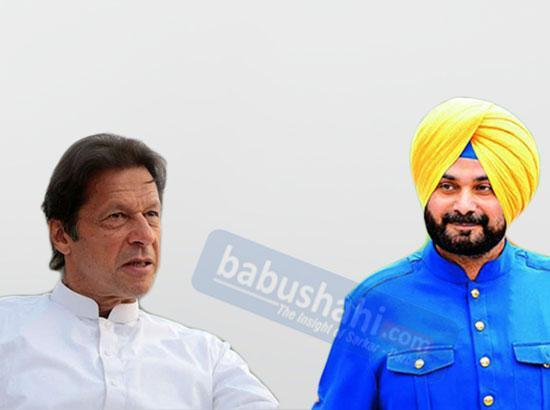 Imran Khan invites Navjot Sidhu for Kartarpur Corridor opening ceremony on Nov 9