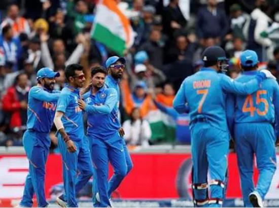 India beats Pakistan by 89 runs in World Cricket Cup