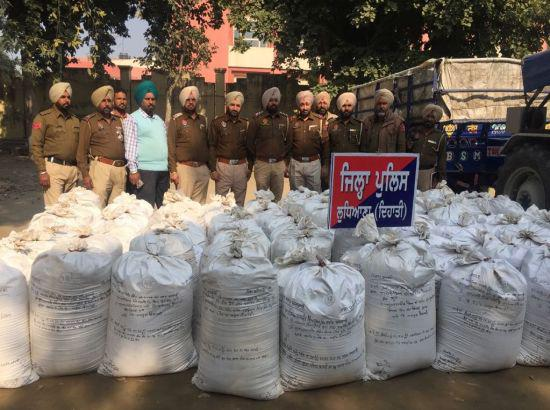 Decade's biggest Poppy husk seizure made in Punjab