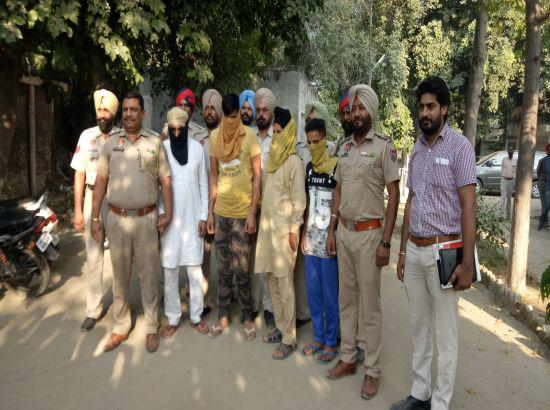 Ex-Akali Sarpanch among four arrested in robbery case