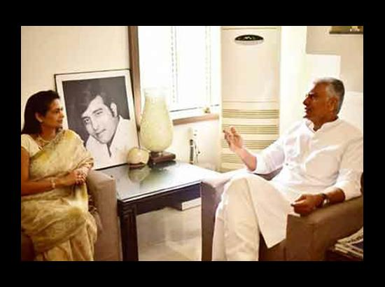 Sunil Jakhar - Kavita Khanna meeting: A worry for Salariya ?