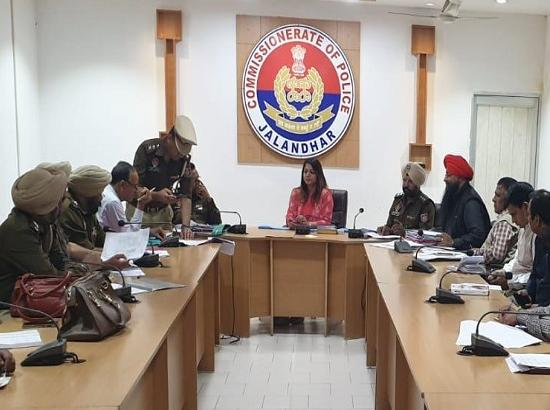 ARO cantonment holds meeting with Police on vulnerable mapping