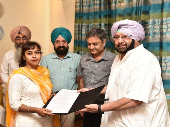 Punjab CM hands over job letters to Agriculture Development Officers
