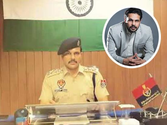 Punjab Police DSP dedicates song to doctors fighting coronavirus