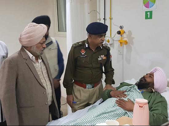 Grenade Attack Update : ACS Home Kalsi and DGP Suresh Arora, NIA team arrives at the spot