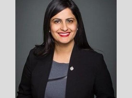 Young Punjabi woman MP in Canada tested positive with Covid-19