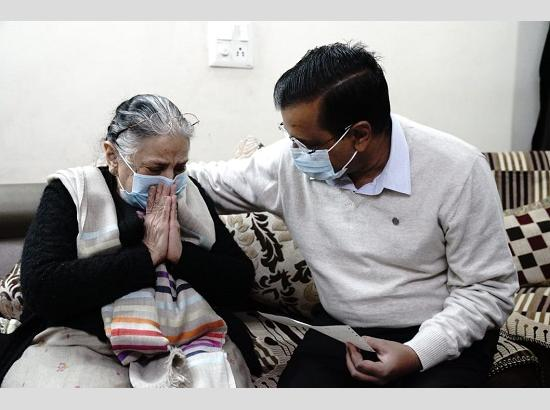 Kejriwal provides Rs 1 crore financial assistance to the family of Corona warrior Late Dr. Hitesh Gupta