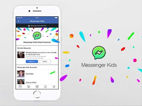 Messenger for Kids now lets children add friends