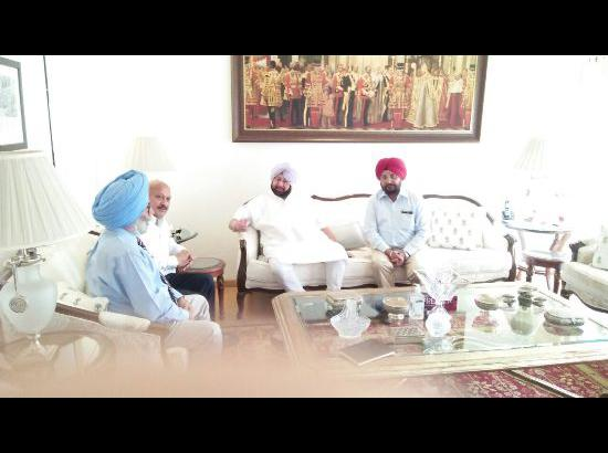 Amarinder urges PIRA to support efforts for sustainable development