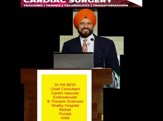 Punjab cardio-vascular surgeon addresses prestigious Medinspire conference
