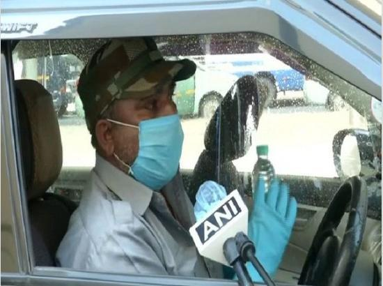 Mask not compulsory for person driving vehicle alone, says Punjab govt