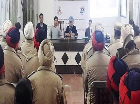 MGSIPA organizes one day training programme on drugs abuse prevention for police functiona