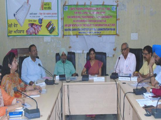RTI an important tool to empower people: DC Gurneet Tej