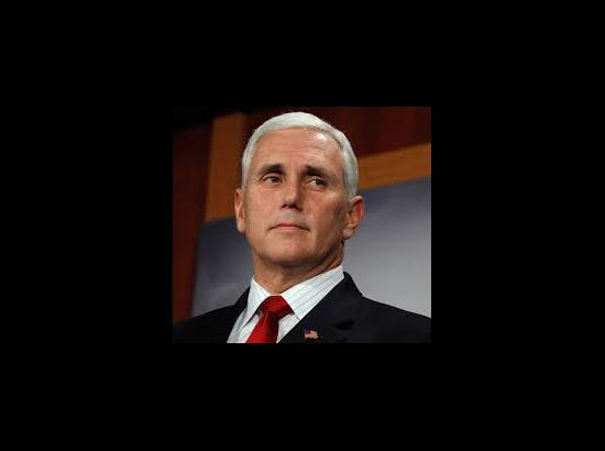 Mike Pence sworn in as US Vice President