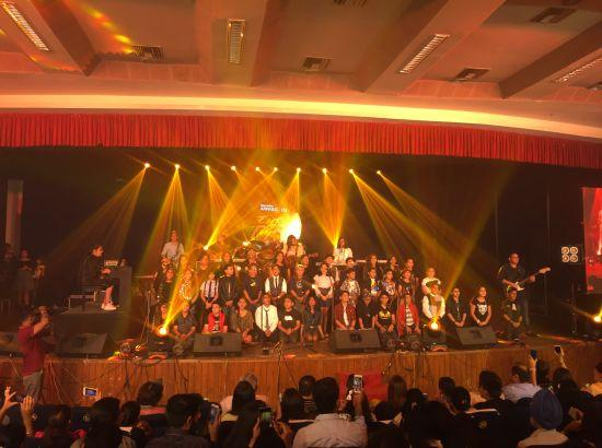 Ludhiana concert Eye of the Tiger by Arpeggios Music Factory a big hit