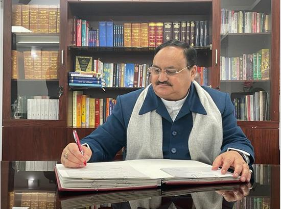 JP Nadda recovers from COVID-19, expresses gratitude to AIIMS director