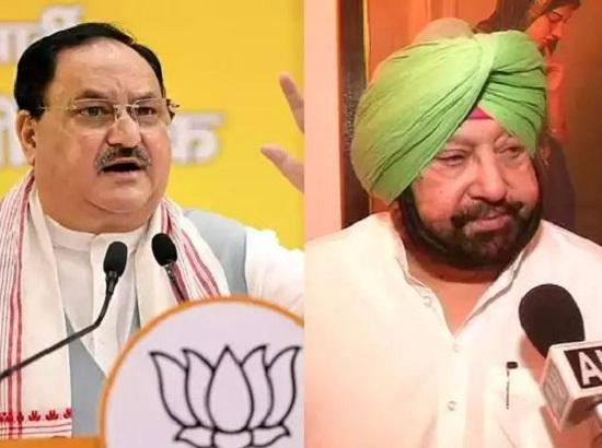 Nadda blames Amarinder for misleading the people , replies to Capt. Letter, plays politica