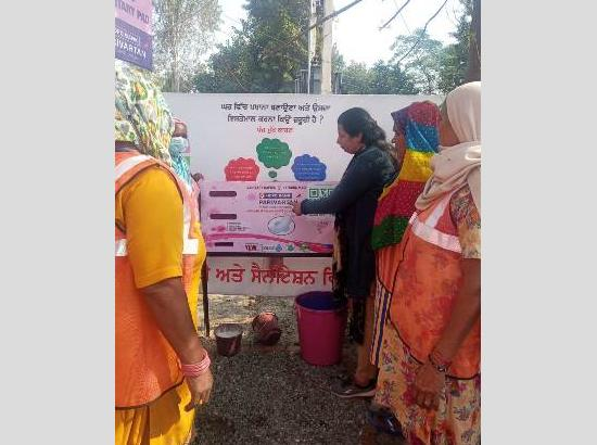 60 Sanitary Pad Vending Machines installed  by Sanitation Dept during 'Prakash Purab'