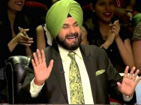 Will flamboyant Sidhu appear on Kapil Sharma show from Saturday ?