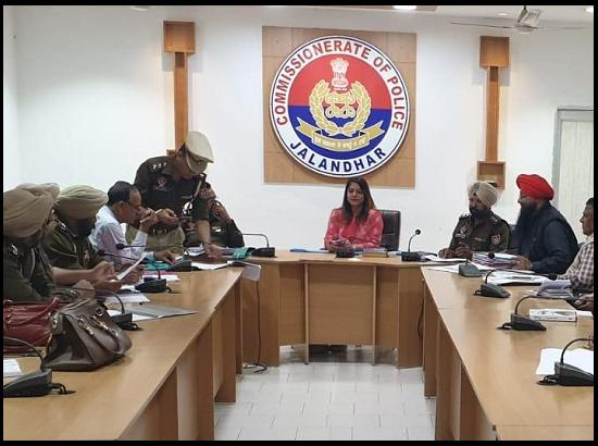 ARO Cantonment chairs meeting with Police on Vulnerable Mapping