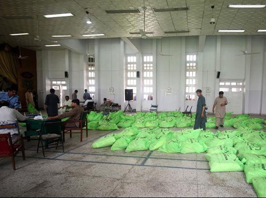 Voting underway for Pakistan general election