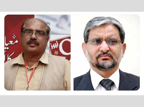 Covid claims lives of two Pak journalists