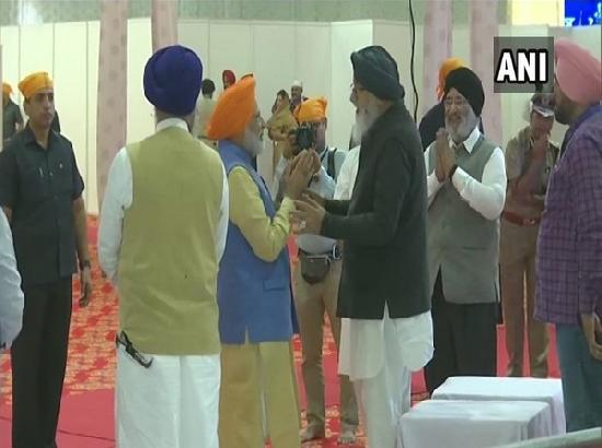 Prayers have been answered today due to PM Modi, Akal Takht: Parkash Singh Badal