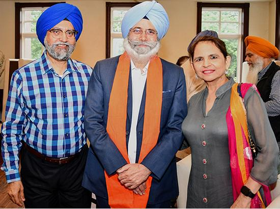 H S Phoolka, A human Rights Lawyer from India, Honored in Washington