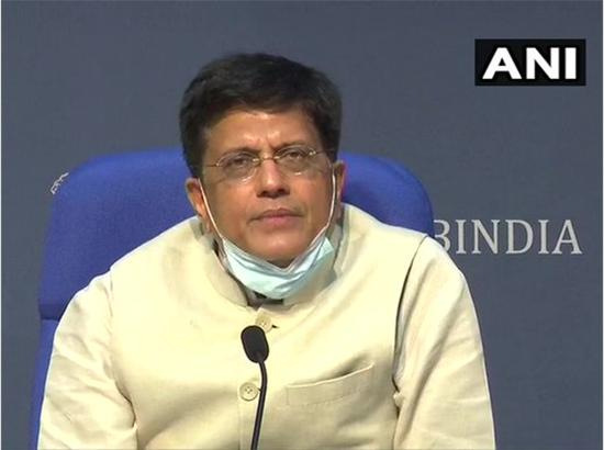 Piyush Goyal to Amarinder : Ensure full security, clear track of agitators and guarantee s