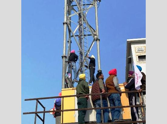 KMSC snap power supply to four Jio towers, online students' study to suffer