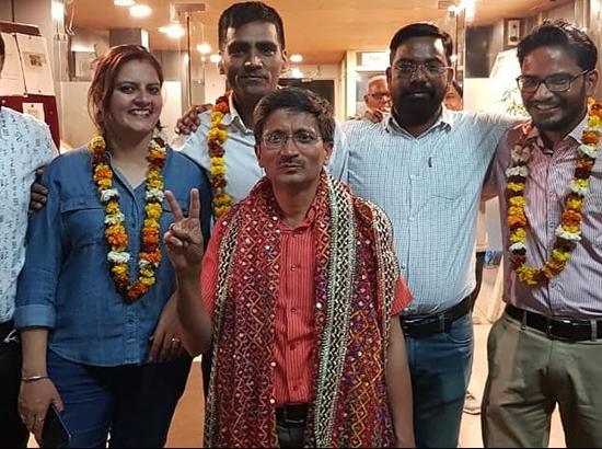 Rawat-Duggal-Handa panel sweeps Chandigarh Press Club polls