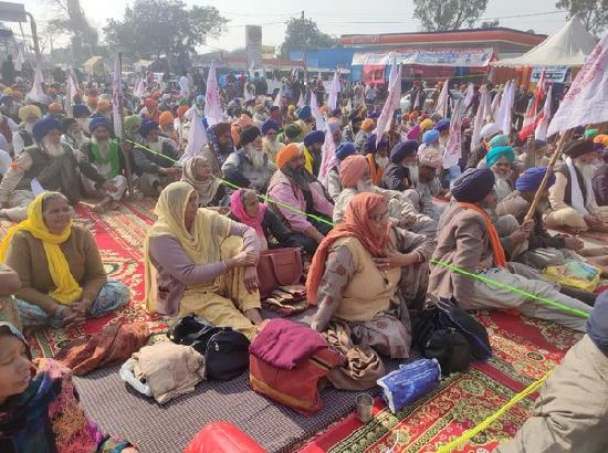 25th day of farmer protest