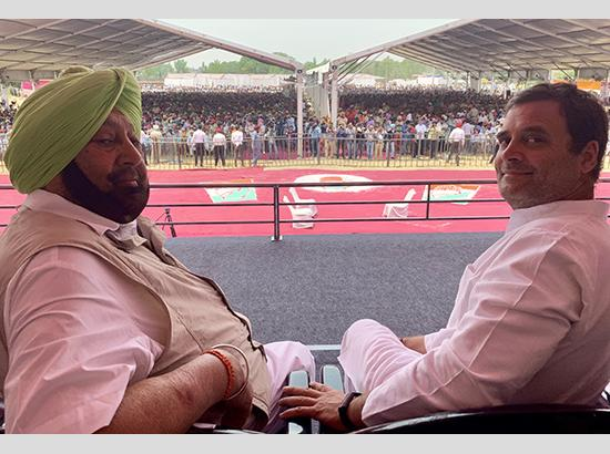 Rahul in Punjab : Terms Sam Pitroda's `Hua To Hua' Remark As Shameful