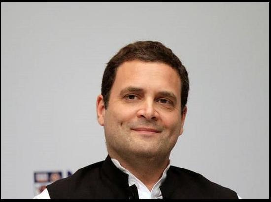 Rahul Gandhi to address poll rallies in Ludhiana and Hoshiarpur on Monday