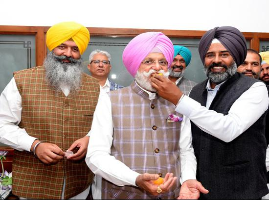 Rana Gurjit Singh assumes charge as Minister for irrigation and power