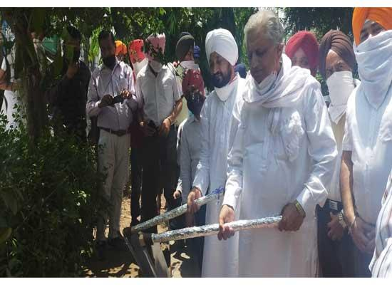 Several development works worth Rs. 29 crore initiated in Sri Anandpur Sahib