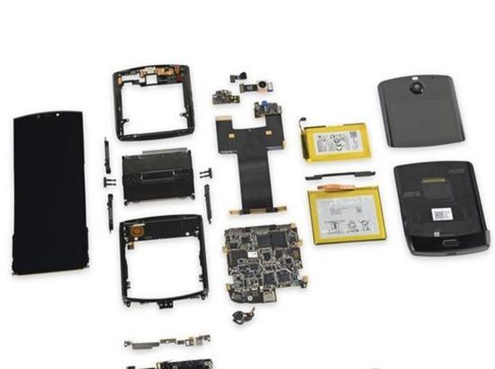 Motorola Razr is most difficult to repair, iFixit teardown reveals