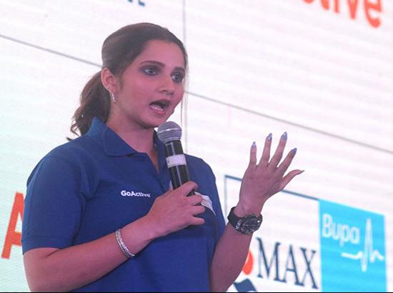 Sania Mirza highlights importance of health insurance